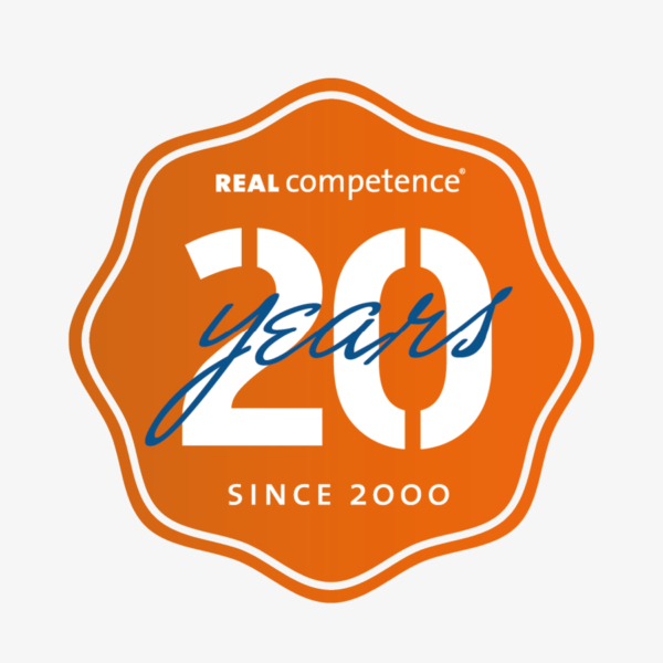 Real competence, logotyp